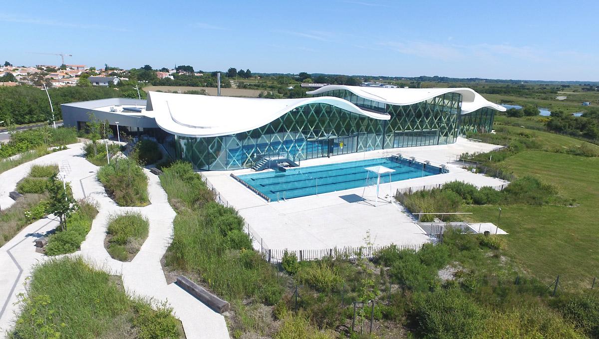 DGA Architectes piscine Saint Hilaire de Riez