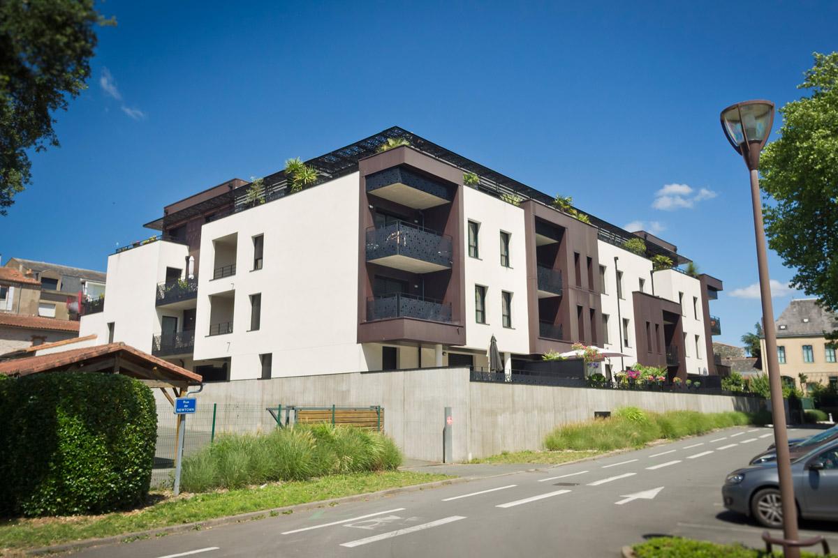 Construction de 3 immeubles aux Herbiers - DGA Architectes