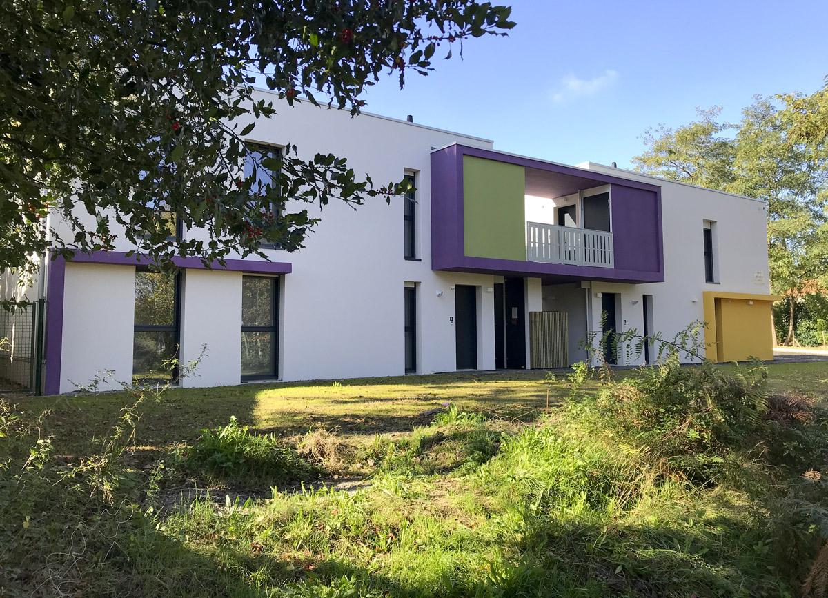 6 logements individuels construit par l'agence DGA Architectes