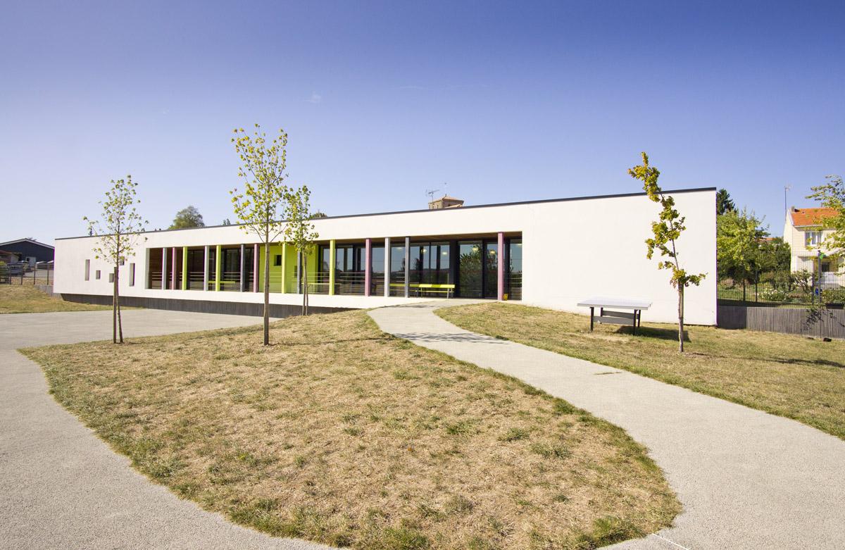 Périscolaire des Epesses construit par DGA Architectes