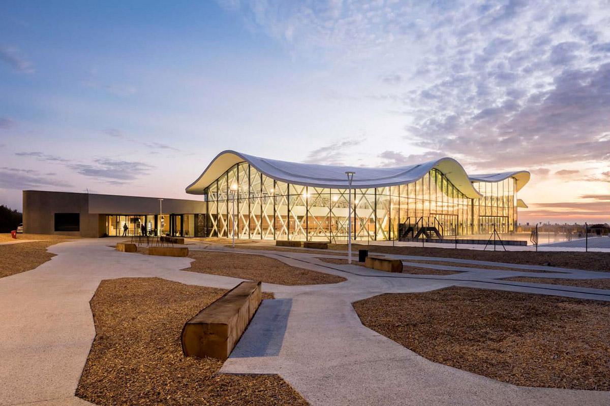 Complexe aquatique de St Hilaire de Riez - DGA Architectes