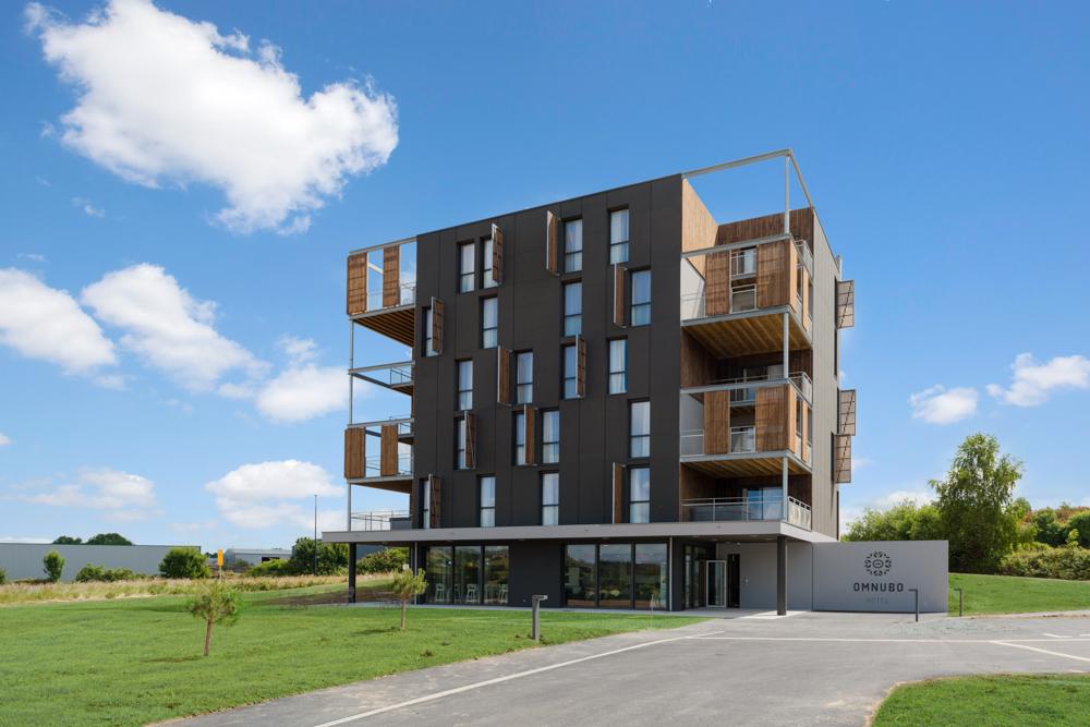 Construction d'un hôtel à St Mars la Réorhte par DGA Architectes