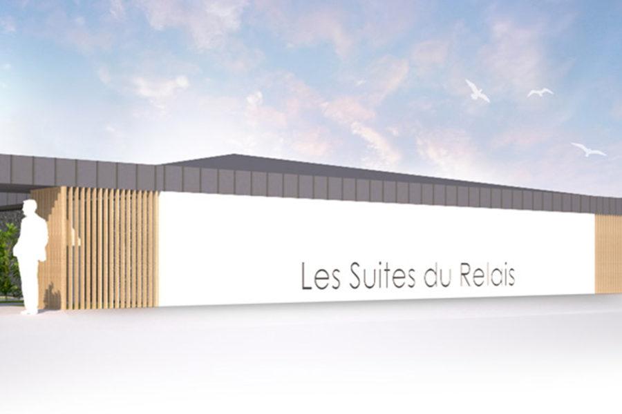 <span>Hôtellerie Restauration</span>LES SUITES DU RELAIS<p>CHAMBRETAUD</p>