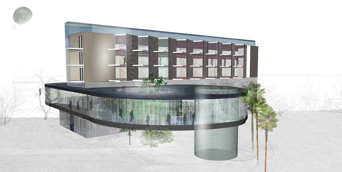 Un nouvel hôtel aux Sables d'Olonne grâce aux architectes de DGA les Herbiers