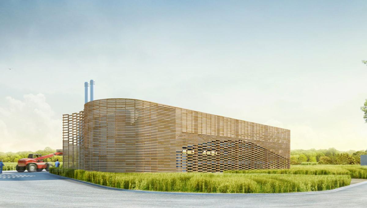 Construction d'une chaufferie ENR par les architectes de DGA en Vendée