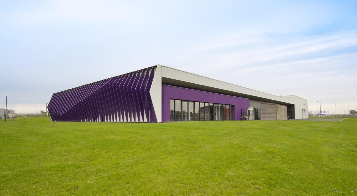 Bâtiment Yon et Bocage réalisé par l'agence d'architecture DGA les Herbiers