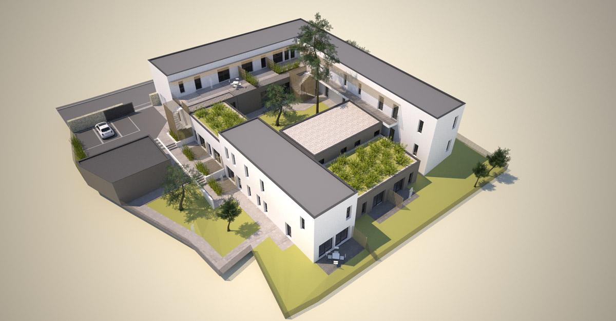 Réalisation et réhabilitation de 15 logements et 3 studios à Fontenay le Compte par DGA Architectes