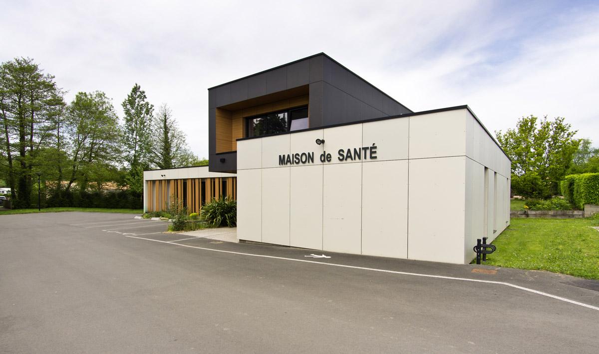Maison de santé Beaurepaire - DGA Architectes les Herbiers