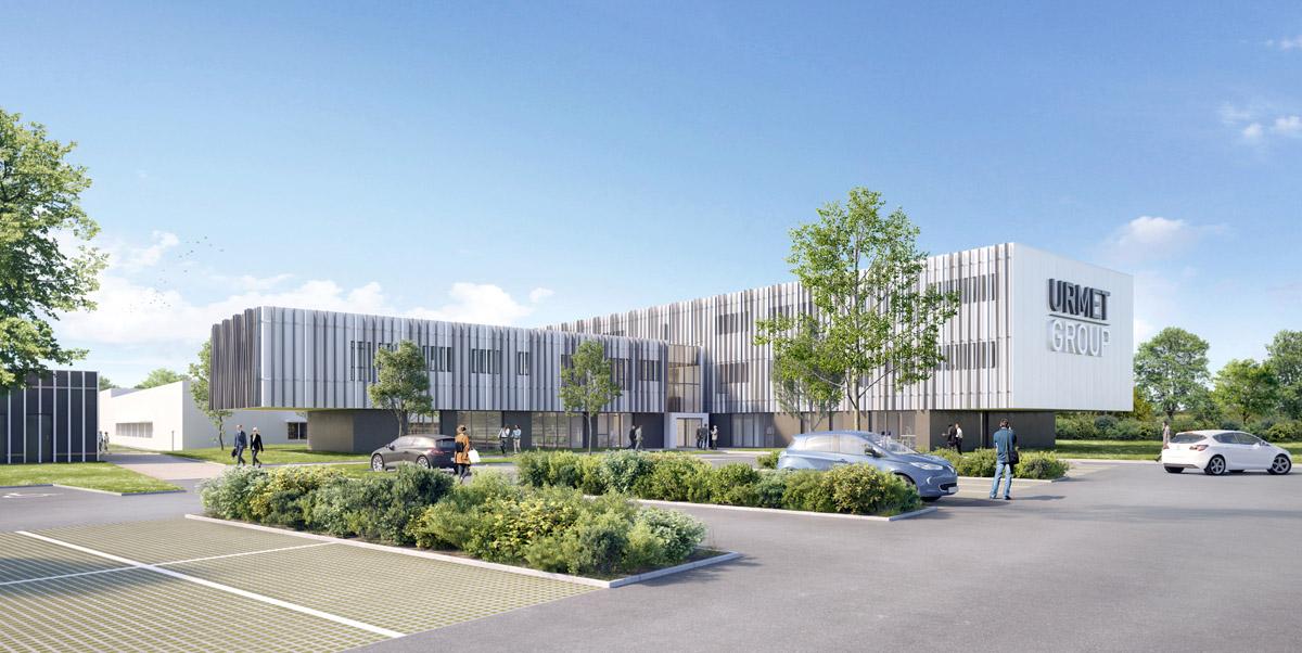 Conception d'un siège social à Cholet par DGA Architectes