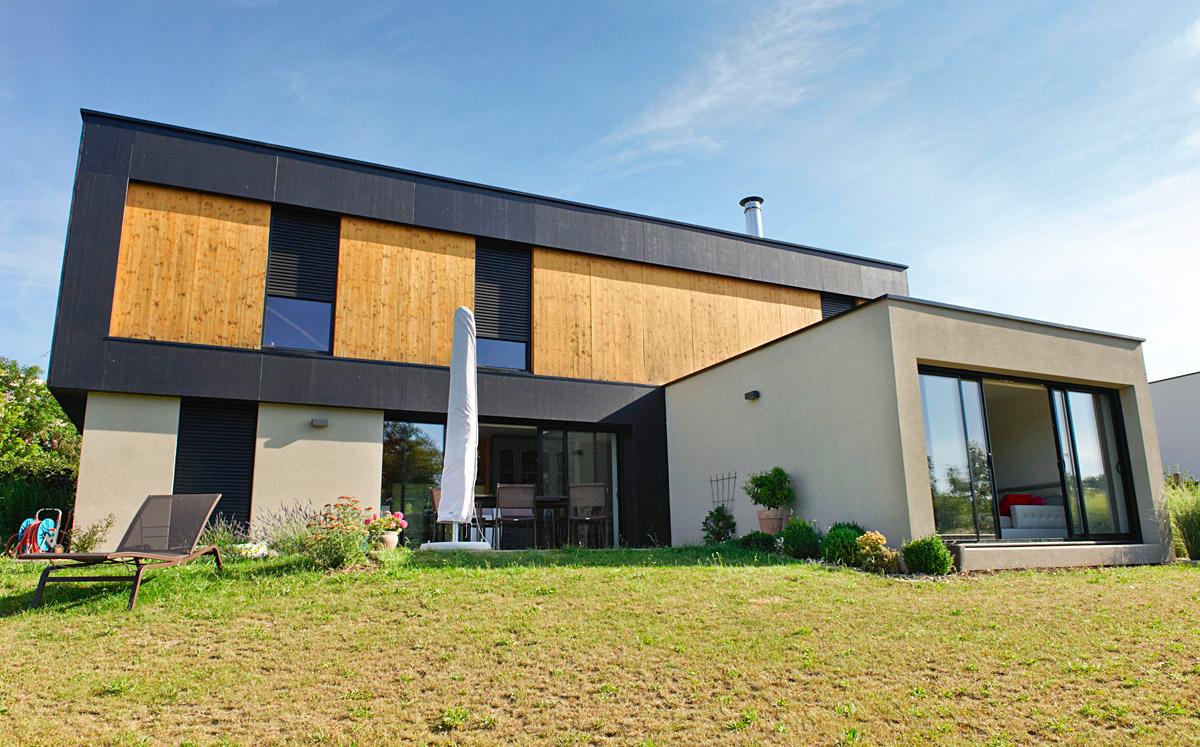 Réalisation d'architectes, maison individuelles écoquartier des Herbiers - DGA Architectes