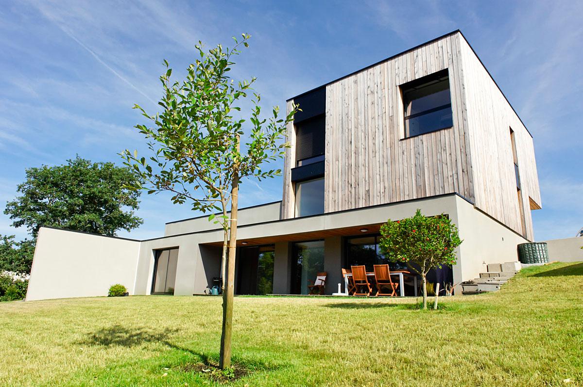 Construction maison architectes aux Herbiers par DGA Architectes