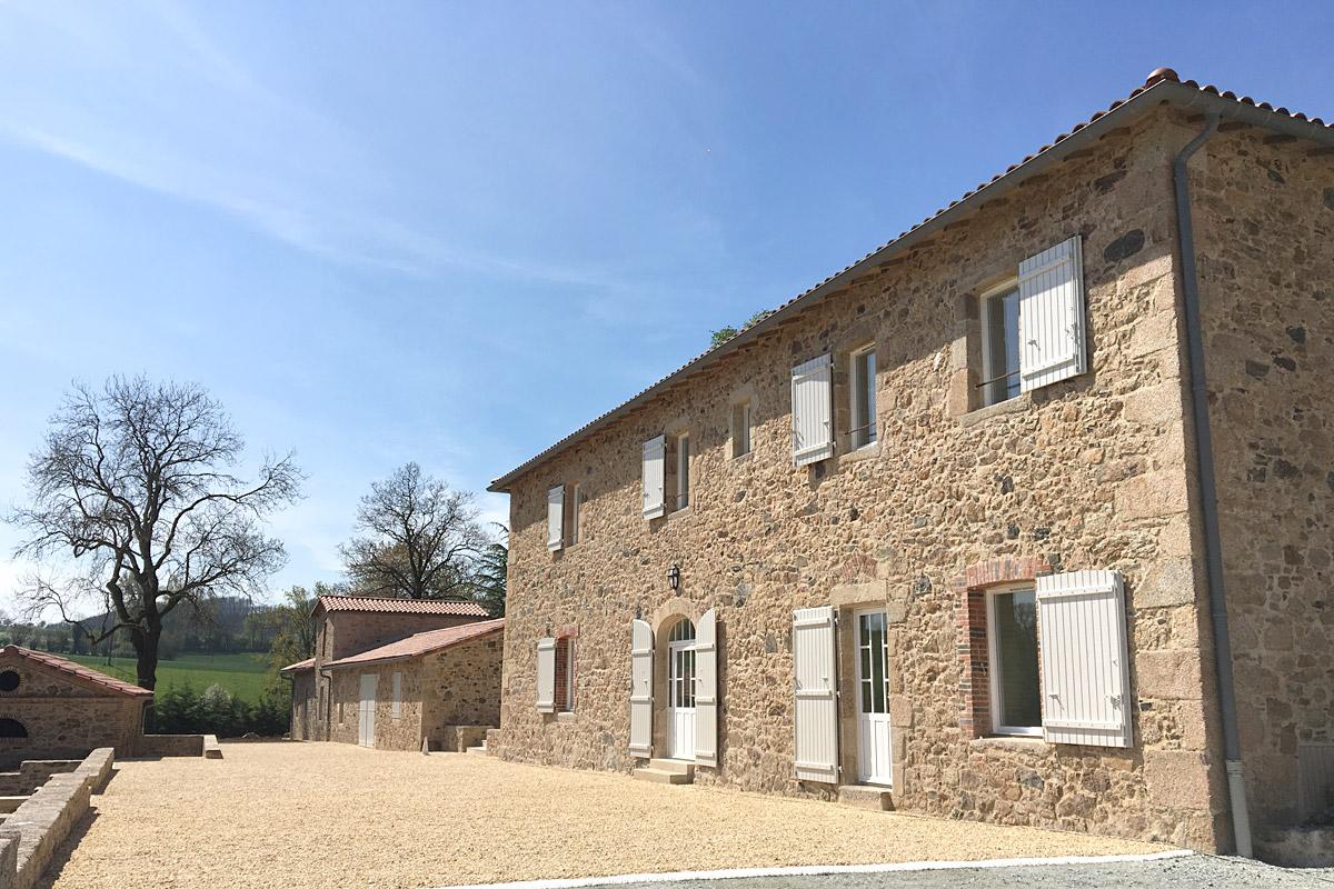 Rénovation maison à St Michel mont Mercure - DGA Architectes