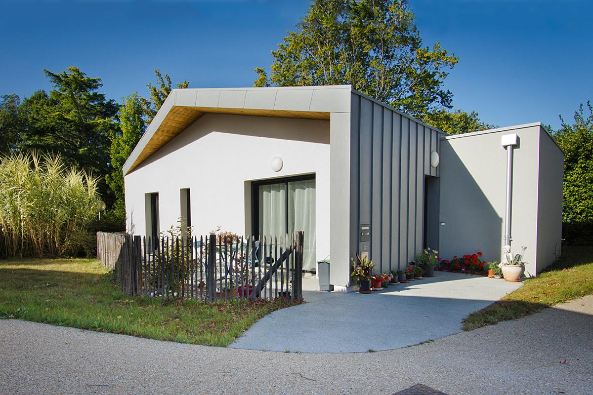Construction de DGA Architectes : 5 logements individuels à St Mars la Réorthe