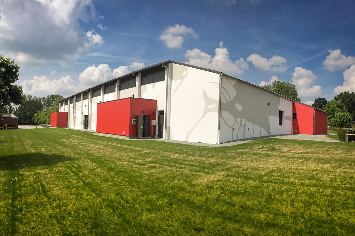 Rénovation salle de sport Mouilleron en Pareds par DGA Architectes