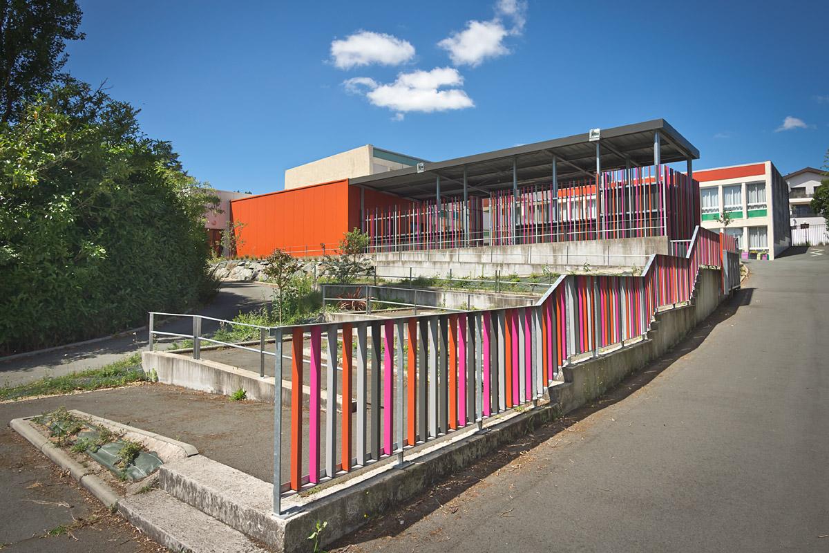 Ecole aux Herbiers rénovée par l'agence DGA Architectes Vendée