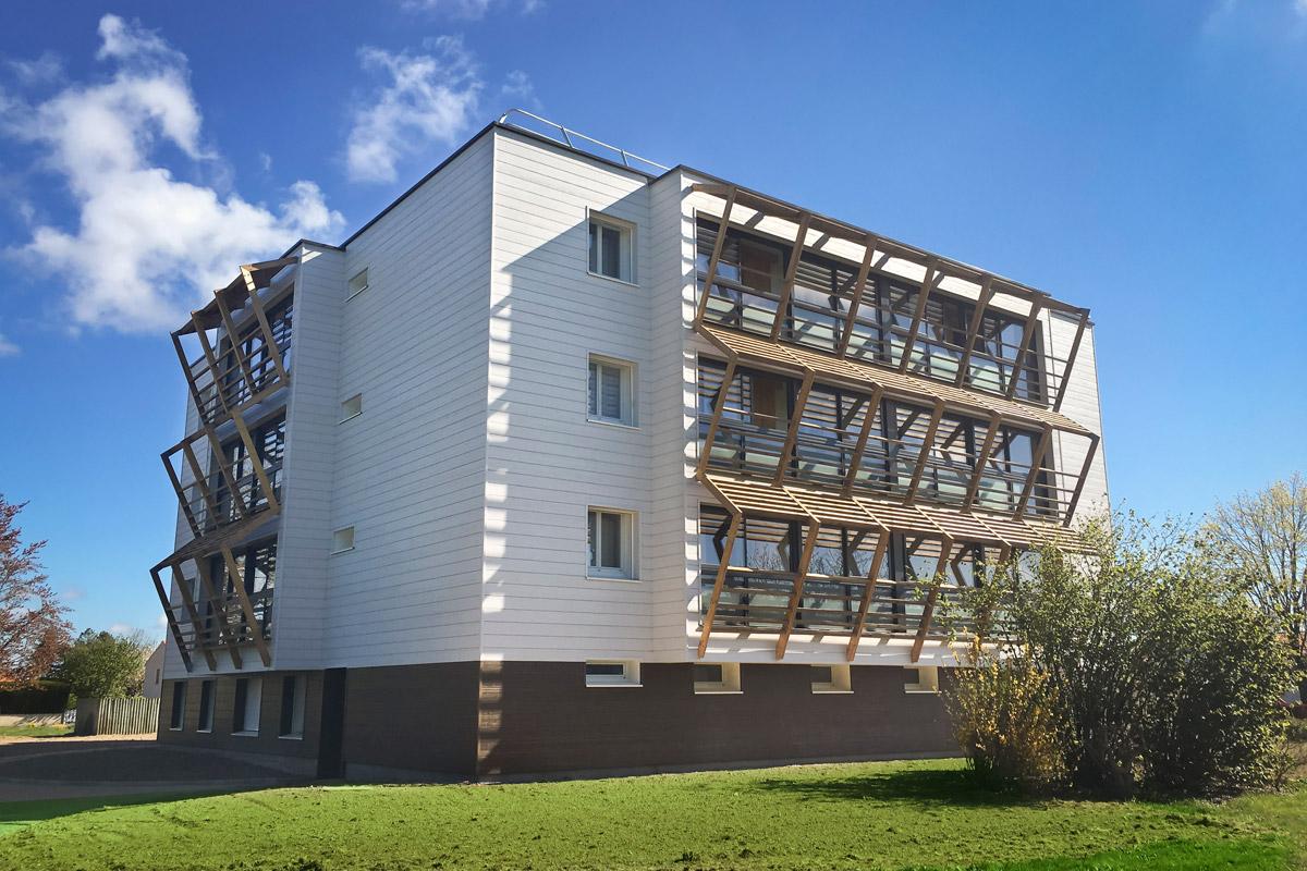 Immeuble des LucsS/Boulogne par le cabinet DGA Architectes