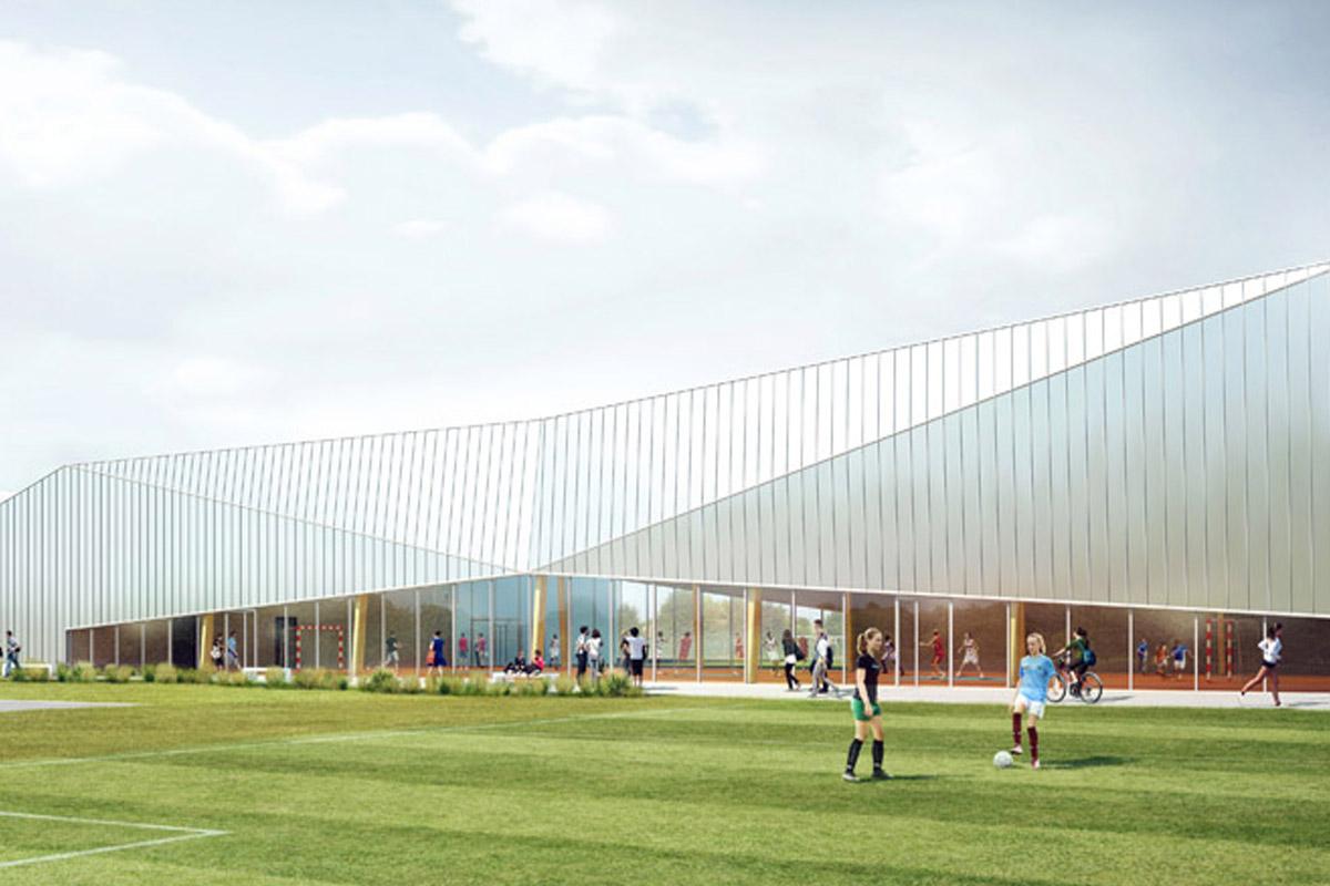 Pôle multisport de Bellevigny créé par les experts de DGA Architectes
