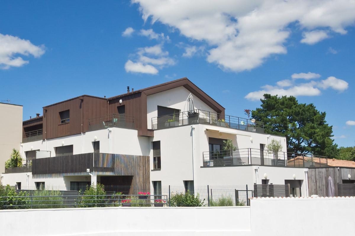 21 nouveaux logements aux Herbiers par DGA Architectes