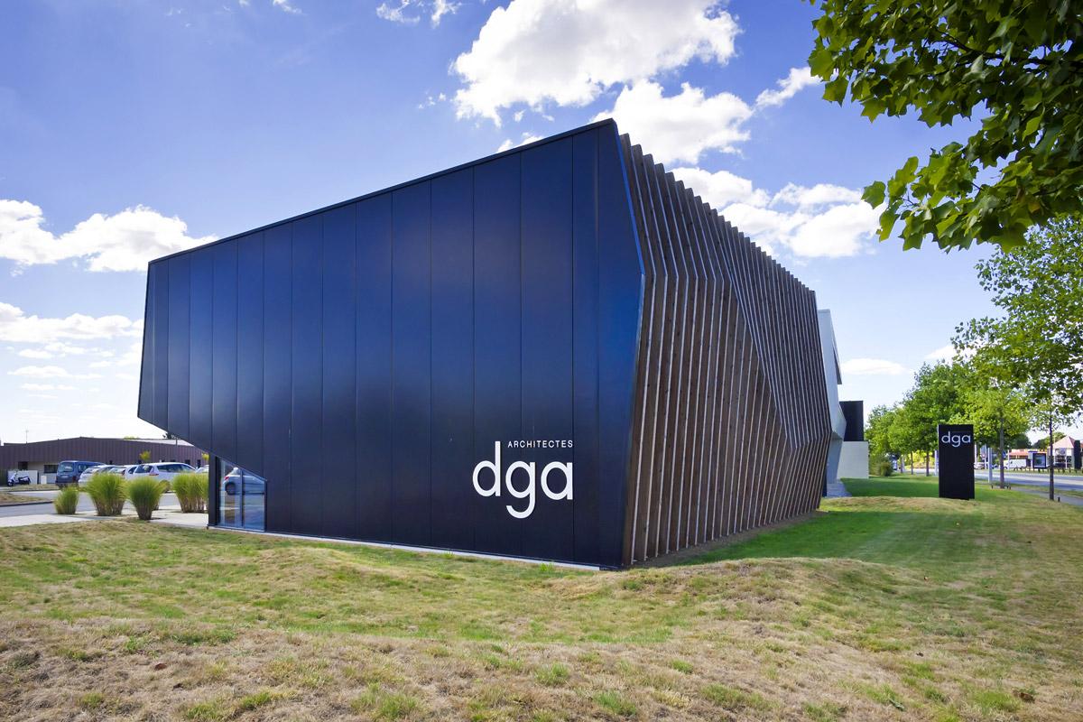 Bureaux architectes DGA Les Herbiers