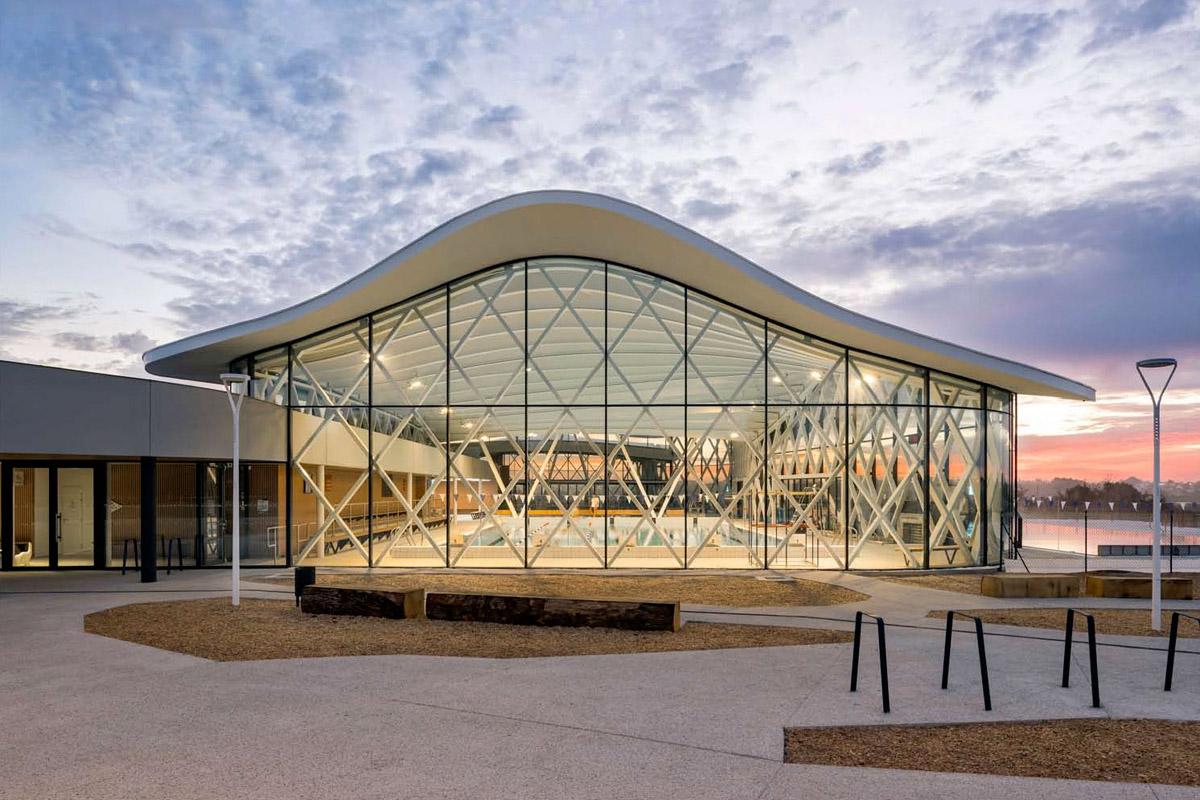DGA Architectes construit le complexe aquatique de St Hilaire de Riez