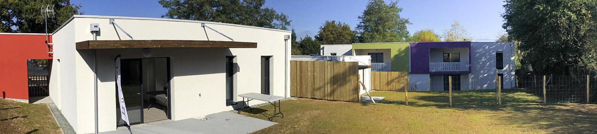 L'agence DGA Architecte construit 6 nouveaux logements à Dompierre sur Yon