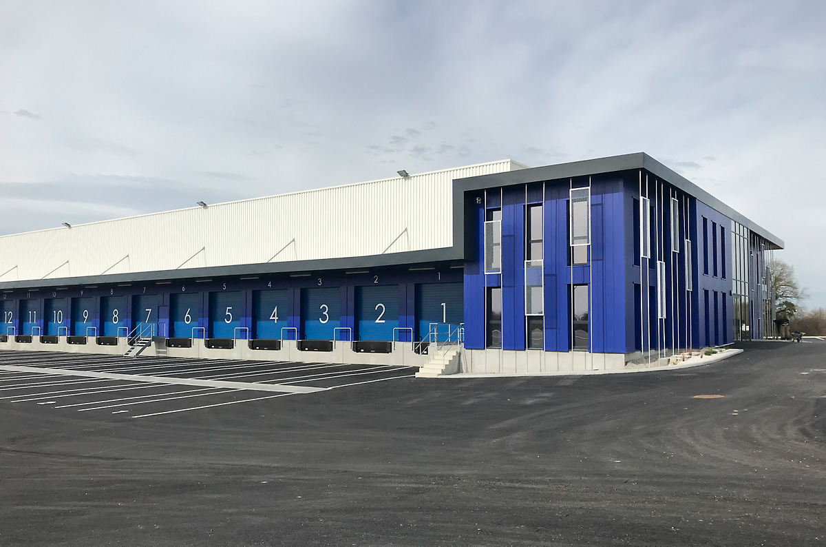 Construction de bureaux stockage à aizenay