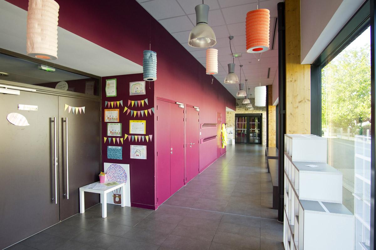 Architecture intérieur périscolaire par DGA Architecte les Herbiers