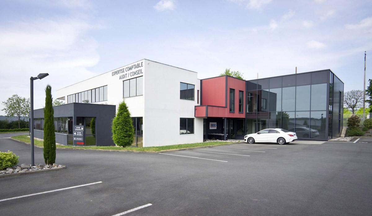 Extension de bureaux pour BDO réalisée par DGA Architectes