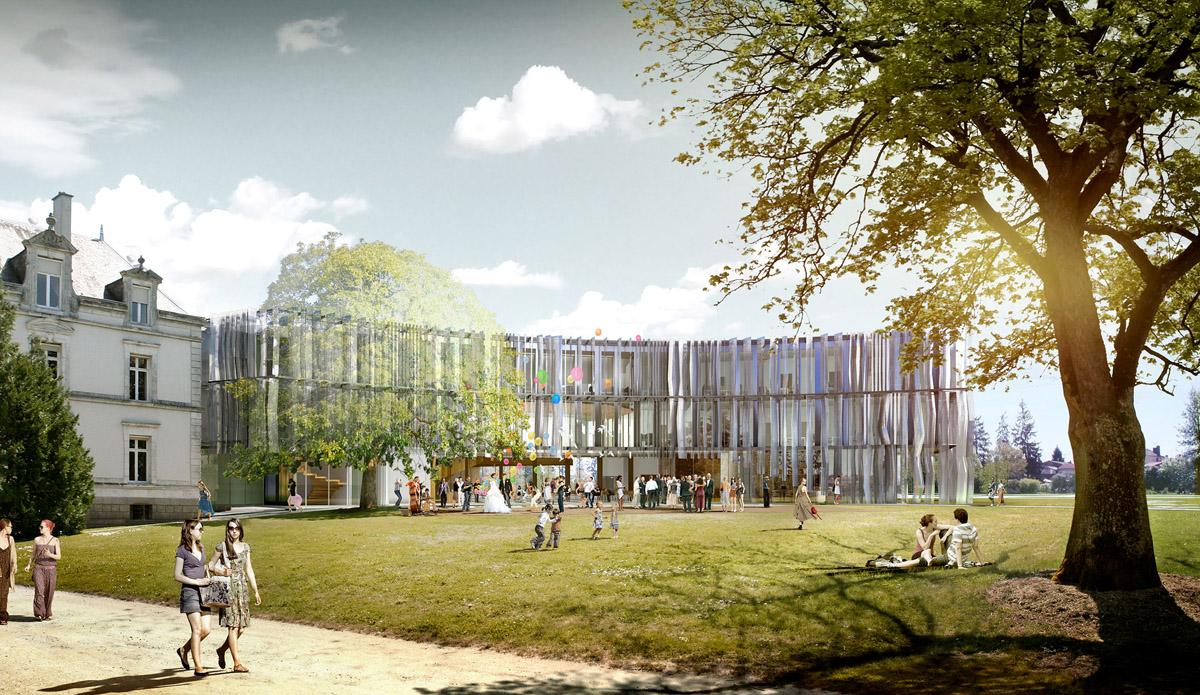 Nouvel hôtel aux Herbiers construit par DGA Architectes