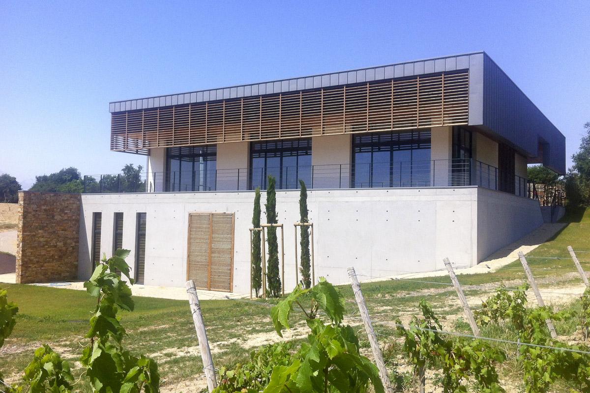 Chais de Mareuil sur Lay Dissais réalisé par les experts de DGA Architectes