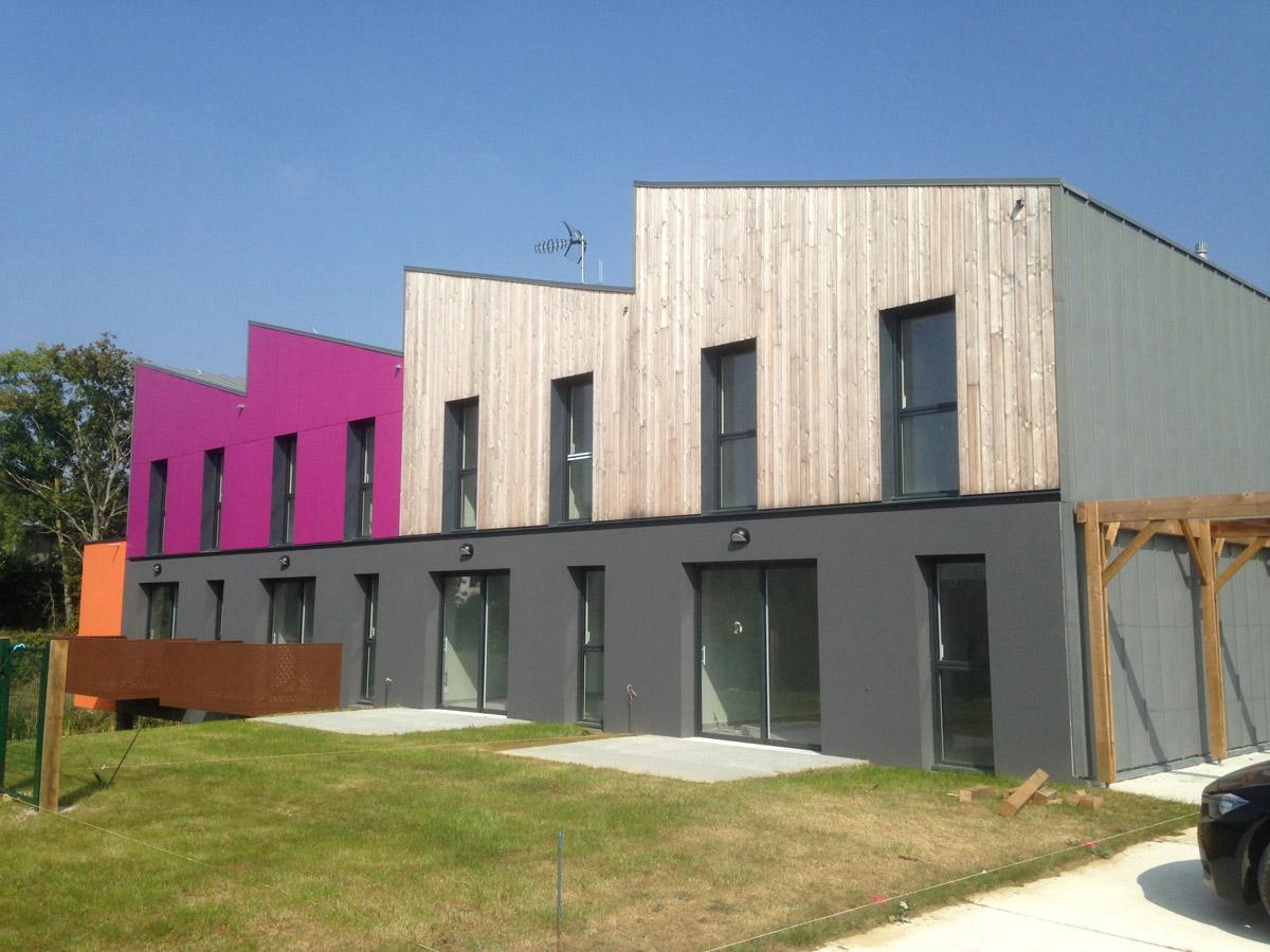 Devanture quartier Val de la Pellinière - DGA Architectes