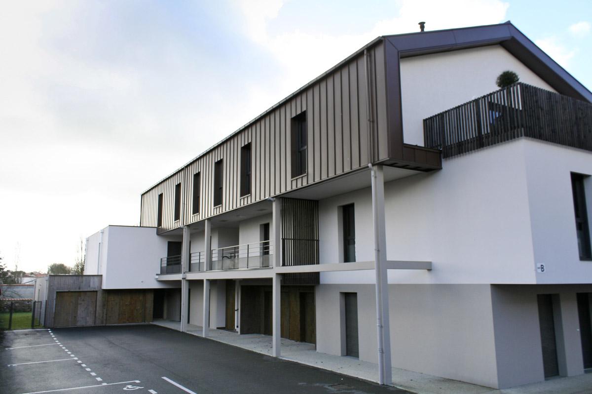 Réalisation immeuble d'architectes aux Herbiers par DGA Architectes