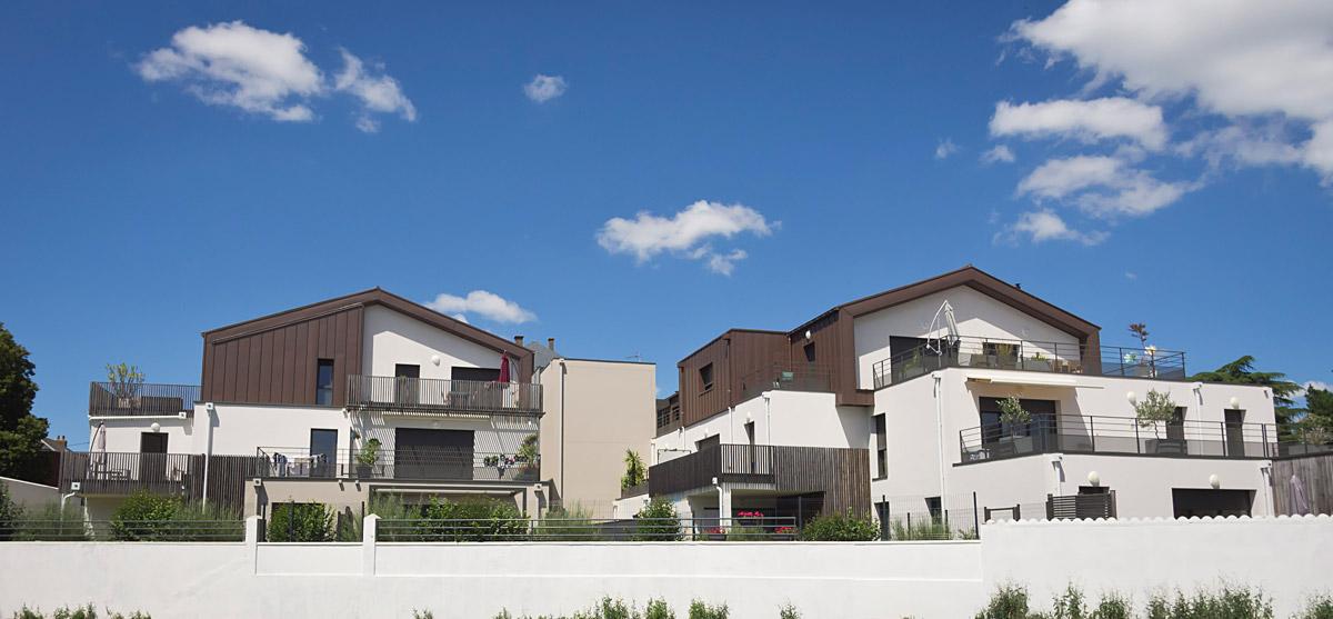 Immeubles locatifs aux Herbiers réalisé par DGA Architectes