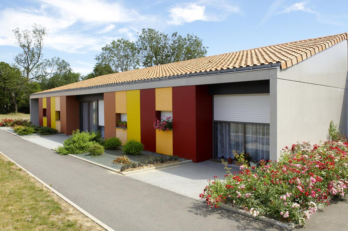 Chambres individuels Marpa Vendrennes une conception de DGA Vendée