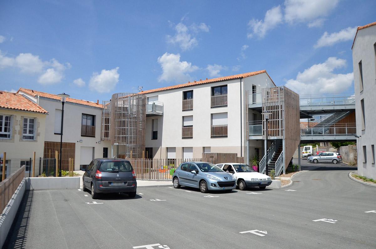 Pôle santé de Moutiers les Mauxfaits imaginé par DGA Architectes Vendée