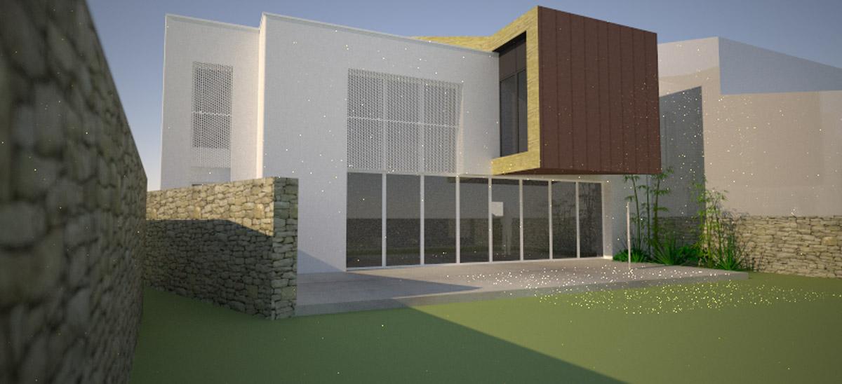 Maison d'habitation Clisson réalisée par DGA Architectes