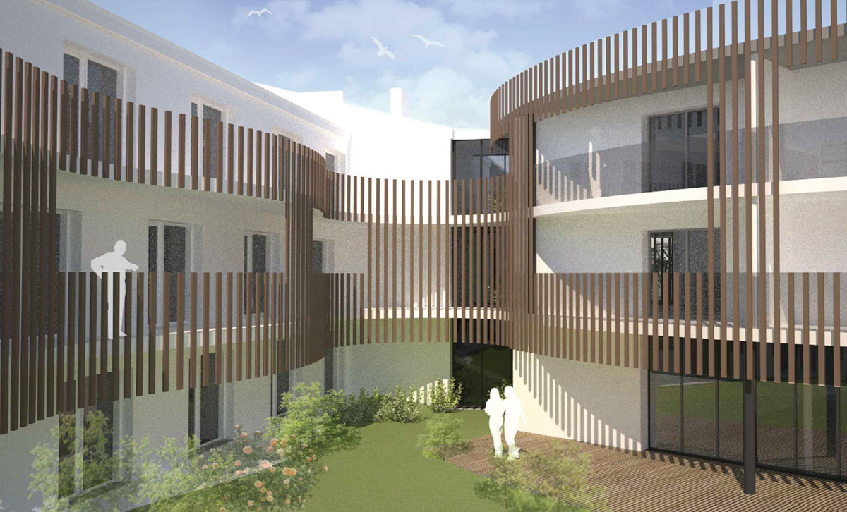 EHPAD Boussay réalisé par DGA Architectes