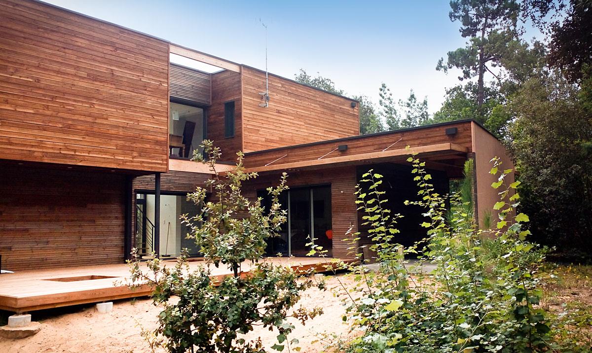 Construction individuelle Jard sur Mer en Vendée - DGA Architectes