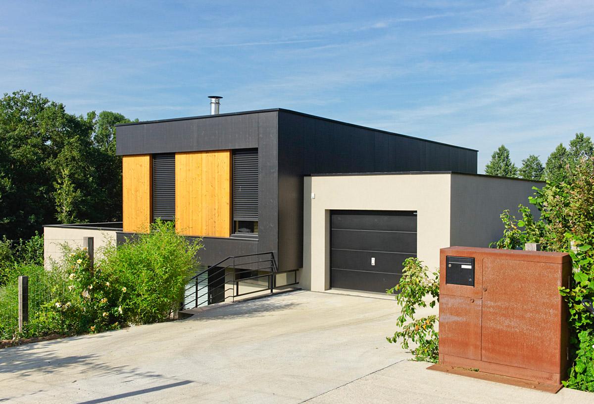 Maison écoquartier de la Pellinière aux Herbiers - DGA Architectes