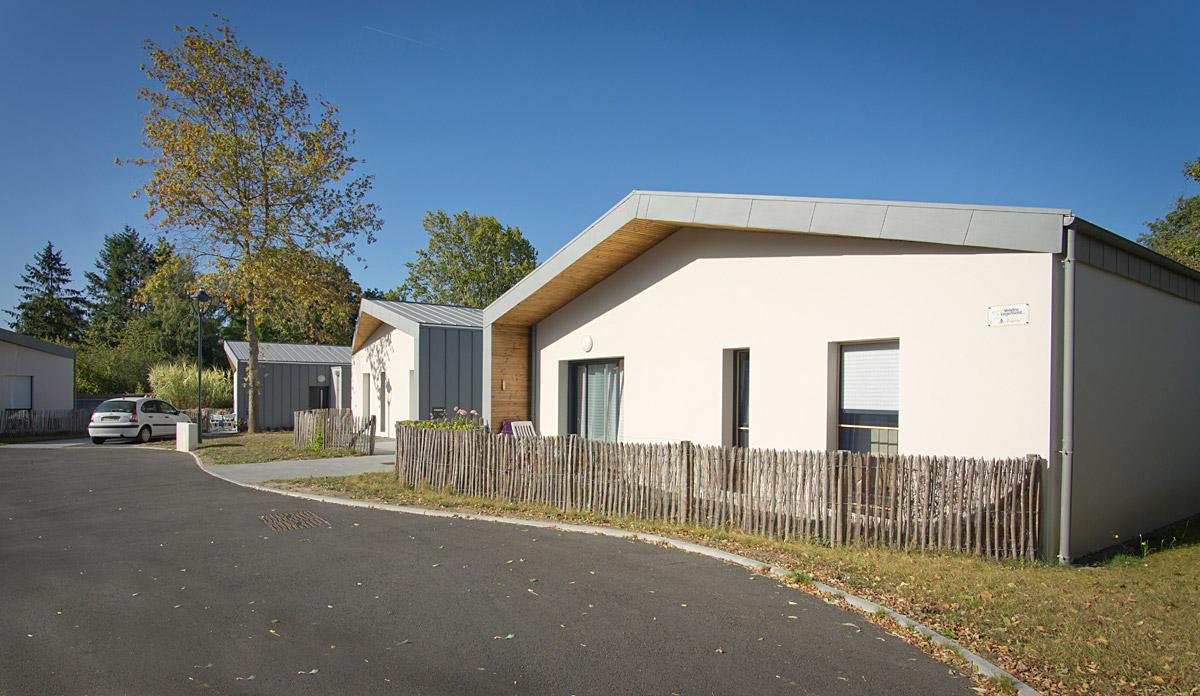 Maison individuelle à St Mars la Réorthe par le cabinet DGA Architectes des Herbiers