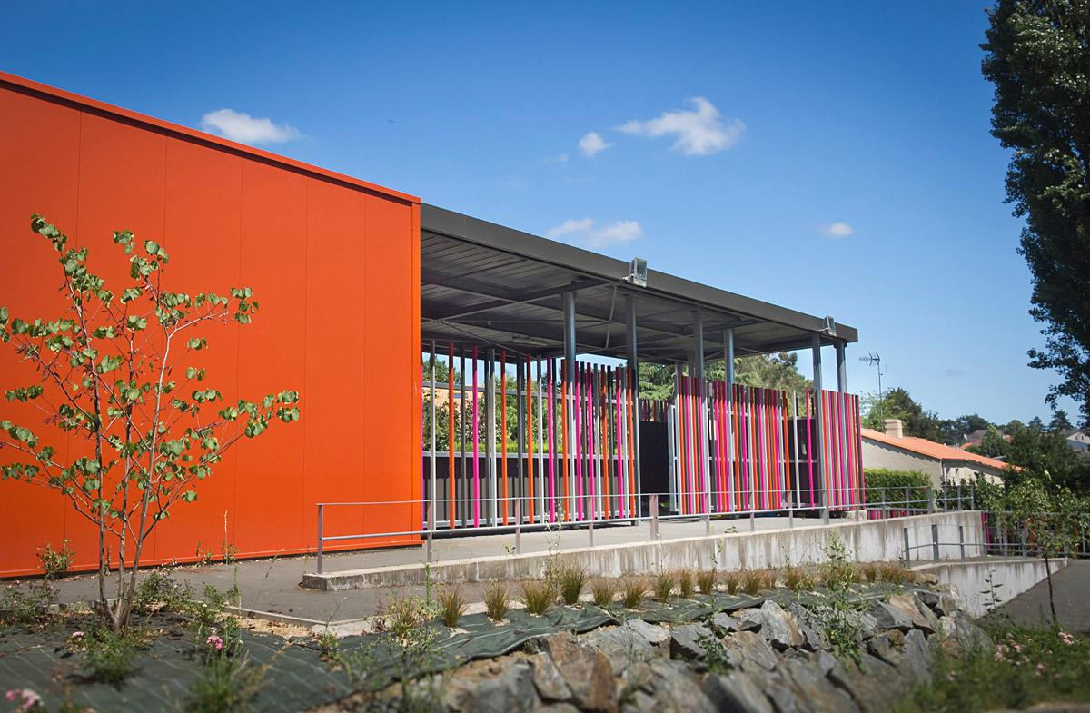 Rénovation de l'école du Brandon et St Joseph aux Herbiers par DGA Architectes
