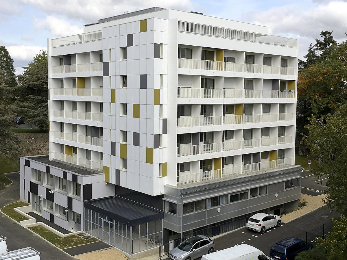 Un foyer réhabilité par une agence Architecturale des Herbiers : DGA Architectes