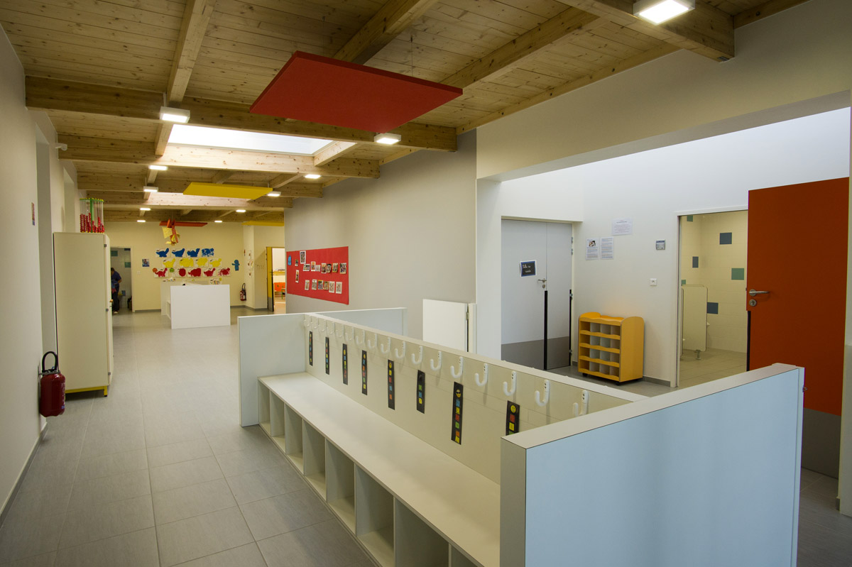 Architecture intérieur école la Flocellière - DGA Architectes