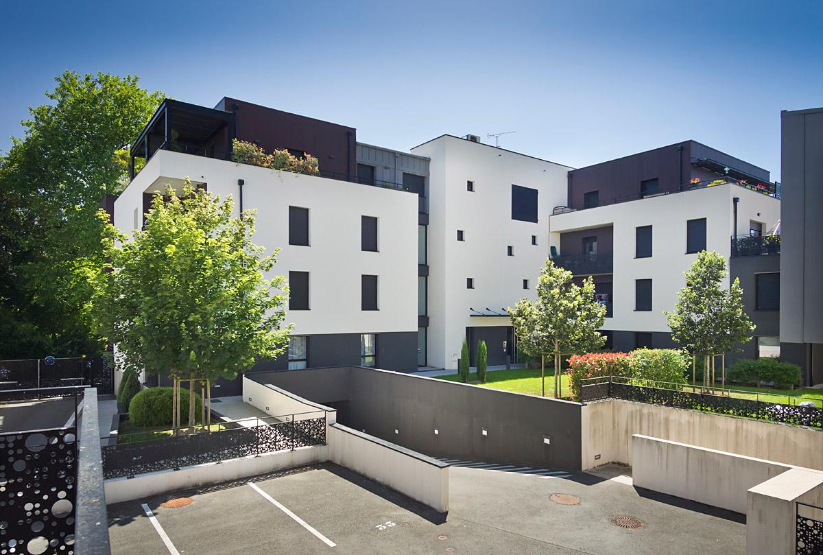 Réalisation de 42 logements et 2 bureaux aux Herbiers - DGA Architectes