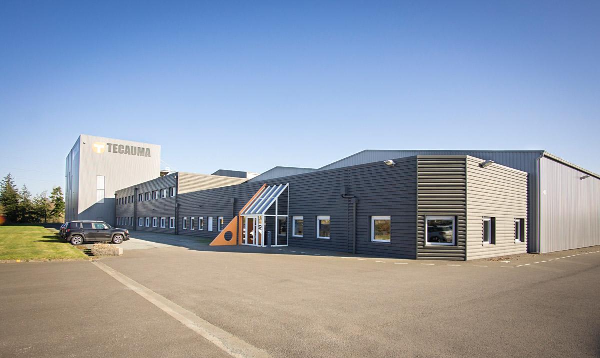 Architecture batiment industriel aux Essarts - DGA Architectes