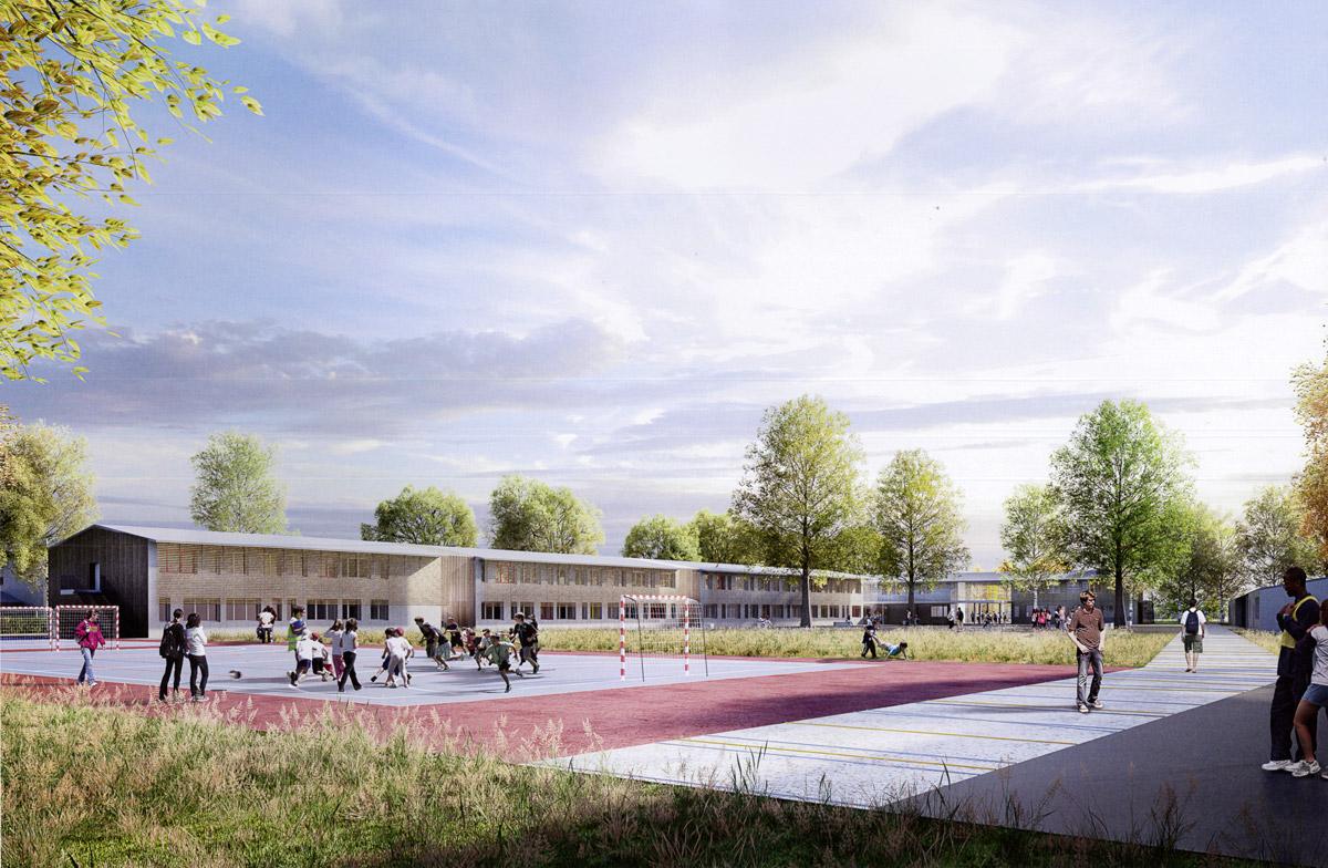 Un nouveau collège aux Essarts grâce au cabinet d'architectes DGA les Herbiers