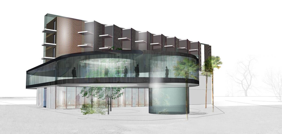 Construction d'un hôtel 4 étoiles par DGA Architectes en Vendée