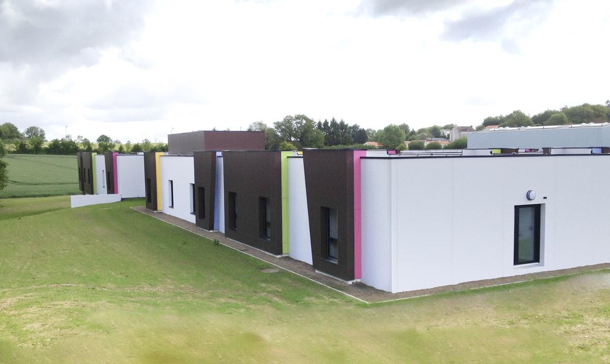 Création de l'internat du CFA de St Michel par DGA Architectes en Vendée