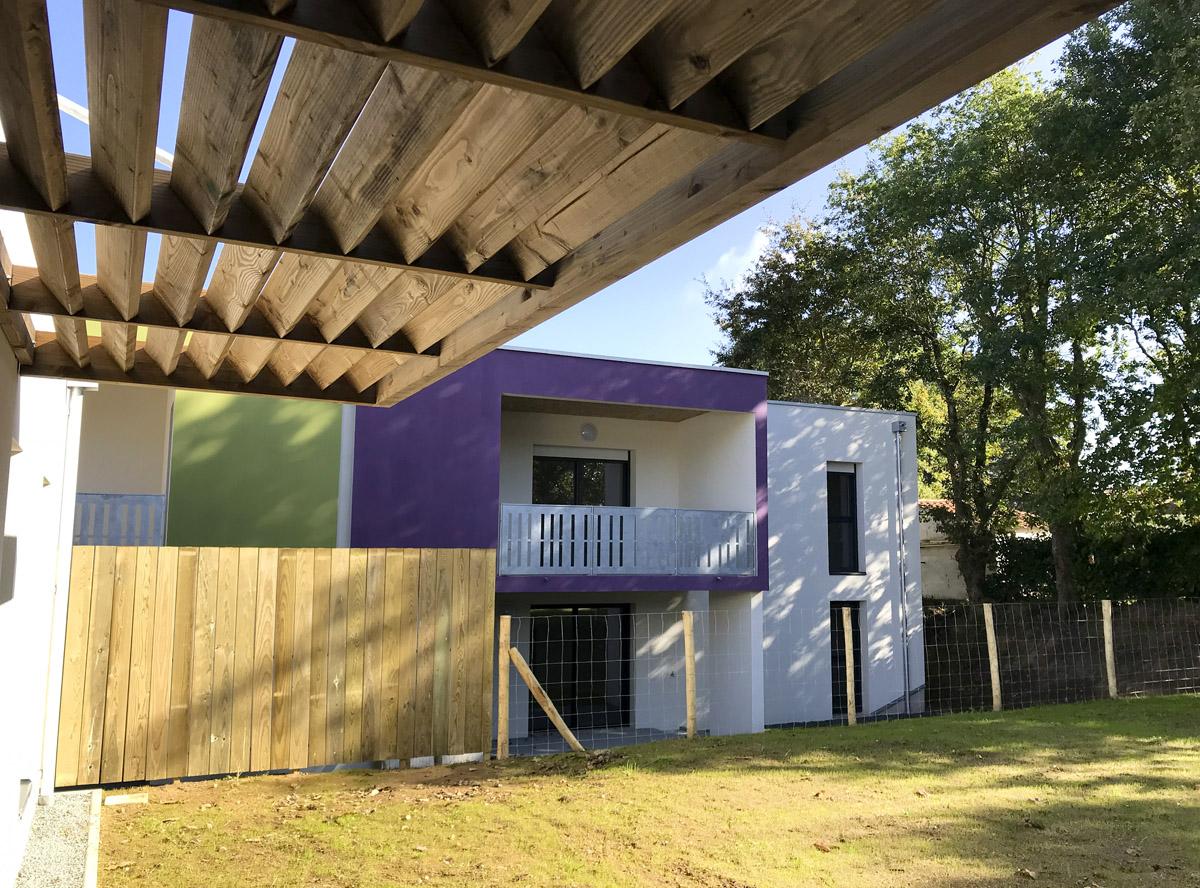 Création de 6 logements à Dompierre sur Yon -DGA Architectes