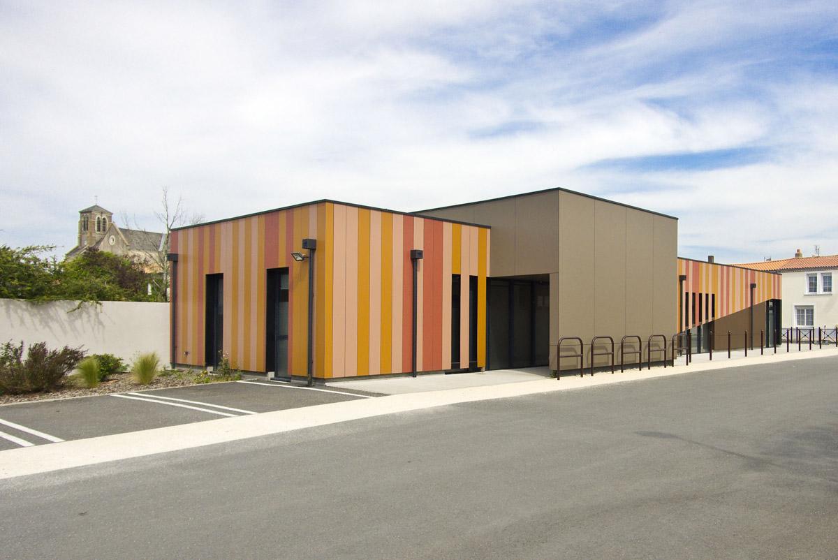 Maison médicale des Landes Génusson - DGA Architectes